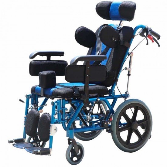 Cerebral Palsy CP Pediatric Multifunction Wheelchair 14 Inch & 16 Inch