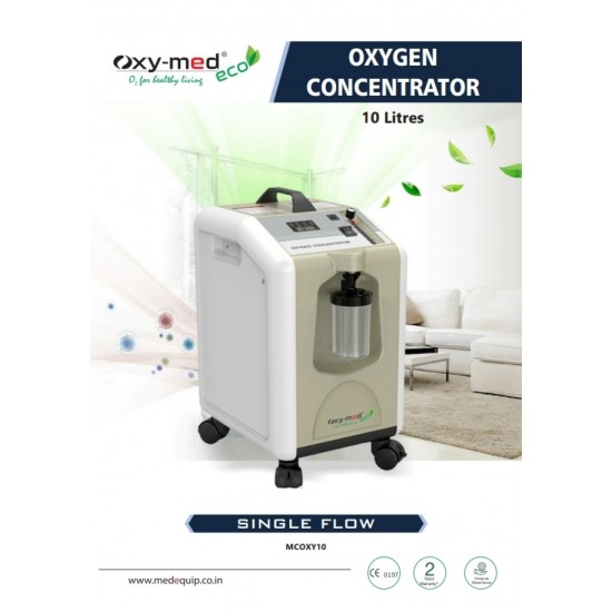 ECO Oxymed Oxygen Concentrator 10 Liter
