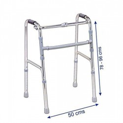 Lightweight Aluminum Folding Walker