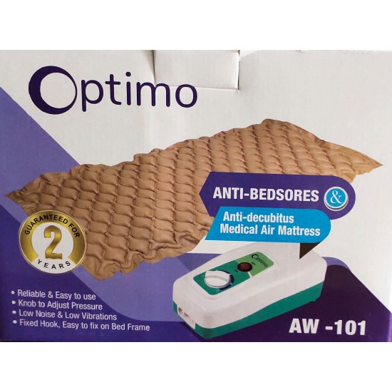 Optimo Anti Bedsore & Anti Decubitus Medical Air Mattress