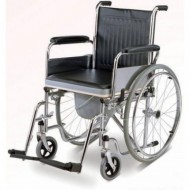 Wheelchair with Seat Lift Commode